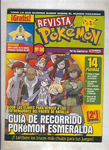 Revista pokemon numero 066