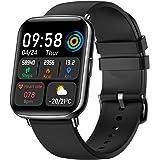 """Smartwatch, Reloj Inteligente Deportivos Hombre Mujer Pantalla TFT de 1,69"""", Impermeable IP68 Pulsera Inteligente con Monitor"""