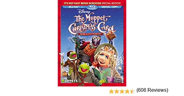The Muppet Christmas Carol 20th Anniversary Edition Blu-ray 1992 ...