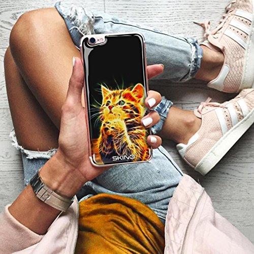 Skino™ Skin 3D Anti-Gravità Custodia Case Cover Hands-Free Selfie Resina Gel Ultra Sottile Antiurto per iPhone 5 / 5s / 5 SE / 6/6 Plus / 6s / 6s Plus / 7/7 Plus Anti-Scratch Slim riutilizzabile Prote CL-2