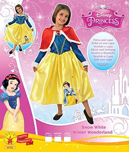 Imagen de rubie's  disfraz de princesa disney blancanieves, invierno en wonderland para niña, talla l i 881856l  alternativa