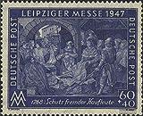 Prophila Collection Alliierte Bes.-Gem.Ausg. 942I A Z geprüft, Wasserzeichen: Stufen flach fallend 1947 Leipziger Messe (Briefmarken für Sammler)