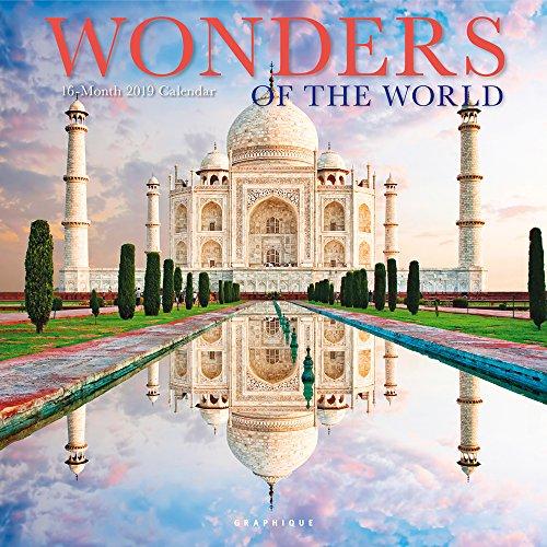 Wonders of the World – Wunder der Welt 2019 - 16-Monatskalender (Wall-Kalender)