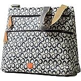 PacaPod Jura Navy Designer Baby Changing Bag - Luxury Lightweight Blue Pattern 3 in 1 Organising System