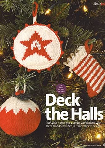 Deck the Halls Christmas Stocking, Christmas Pudding and Christmas Star