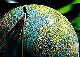 hansepuzzle 15836 Wissenschaft - Globus, 260 Teile in hochwertiger Kartonbox, Puzzle-Teile in wiederverschliessbarem Beutel