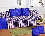 #9: GDH Diwan Set of 8 pieces,Checkered Design