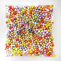 Barattoli di Glitter 52 Pack Kit di Forniture di Comprese Le Palle di Schiuma Fishbowl E Branelli Dolci della Caramella