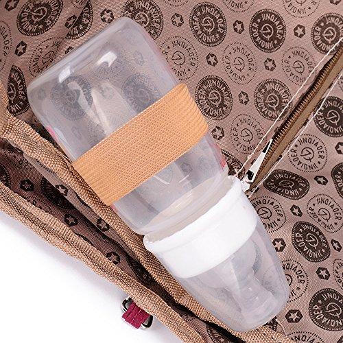 Sacchetto di spalla impermeabile della borsa della borsa per i sacchetti di diavolo dell'adolescenza delle donne Sacchetto trasversale del corpo con il supporto della bottiglia Viola