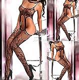 Calza Nightwear camicia da notte Body donna sexy lingerie corpo aperto calza biancheria intima