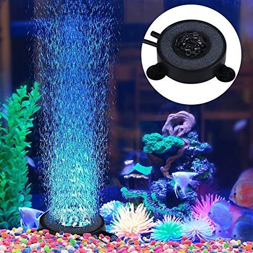 Aquarium Aquarium, Aquarium Bubble Light, 6 LED-Lampe, Aquarium Bolla Aria Stein Fish Tank Bubble Dekoration