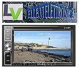 'Phonocar VM039moyenne Station LED numérique 6.2Bluetooth module GPS intégré pour système de navigation façade amovible