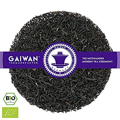 """N° 1107: Thé noir bio """"Ping Suey"""" - feuilles de thé issu de l'agriculture biologique - GAIWAN® GERMANY - thé noir de Chine"""