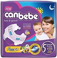 Canbebe Bebek Bezi Avantaj Paket Jumbo 5 Beden Junior 11-18 Kg 32 Adet
