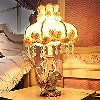 Swan Ornamenti decorazioni domestiche creative lampade Ottimizzata romantica pratico lampada di moda Il nuovo matrimonio camera da letto della lampada da sposa