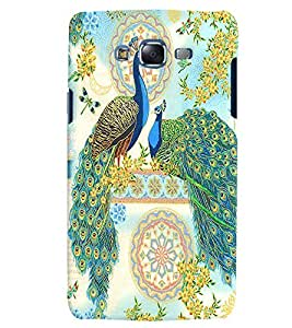 Citydreamz Peacock Feathers/Birds Hard Polycarbonate Designer Back Case Cover For Samsung Galaxy On5 Pro