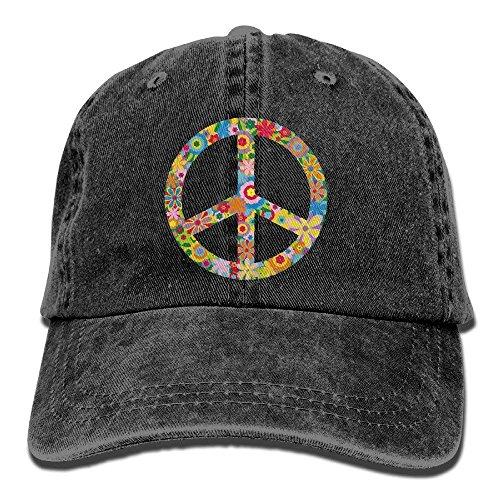 -Friedenszeichen-Unisexcowboyhut-Entwurf für Mann und Frau ()