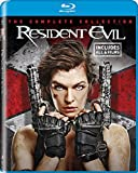 Resident evil the final chapter full collection 1-6 6 Disks Blu-ray Region Free Available now