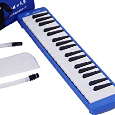 Swan SW37J-2 37-Key Melodica with Case (Blue)