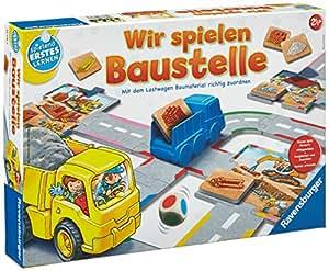 Baustelle zeichnung  Ravensburger 24726 - Wir spielen Baustelle: Amazon.de: Spielzeug