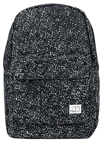 Spiral Glow In The Dark Speckles Backpack Black/Glow One Size
