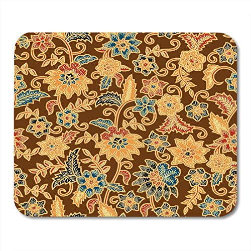 Java-batiken (AOHOT Mauspads Java Batik Pattern Able to Abstract Culture East Fashioned Indonesian Mouse pad 9.5