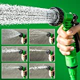 #2: ShoppoZone Magic Hose 15m (50FT) Watering Hose Gun For Car Bike Washer Garden & Home (Color May Vary)