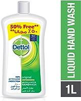 Dettol Original Anti-Bacterial Liquid Hand Wash 1000ml with 50% Free