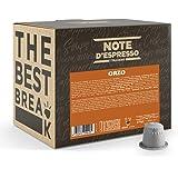 Note d'Espresso - Orge - Capsules Exclusivement Compatibles avec Machine NESPRESSO* - 100 x 2,7 g