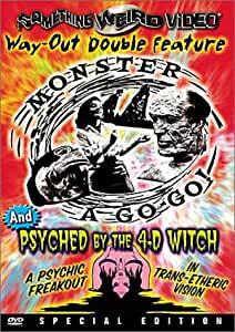 Monster a Go-Go & Psyched By 4-D Witch [DVD] [1965] [Region 1] [US Import] [NTSC]