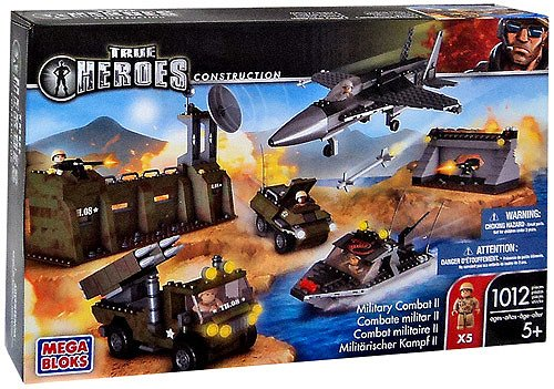 True Heroes Mega Bloks Set Military COMBAT II