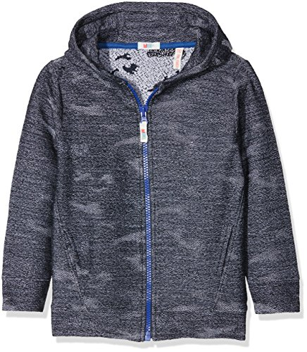 NOP Jungen Strickjacke B Cardigan Long Nipomo, Blau (French Blue C153), 134
