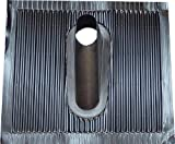 1 Stück Alu-Dachziegel, schwarz