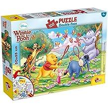 Puzzle dwustronne 108 Kubus Puchatek i Przyjaciele