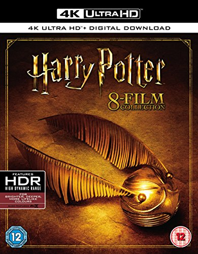 Harry Potter - Complete 8-Film Collection [4K UHD] [Blu-ray] [2017] [Region Free]