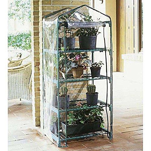 Verdemax 8015358024945 serra azalea a 4 ripiani-giardino & orto serre, unica