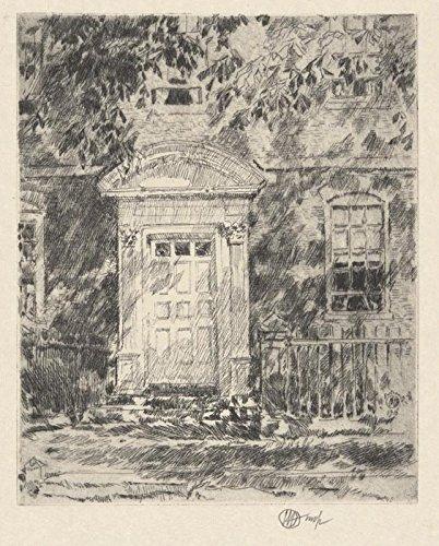 Das Museum Outlet-Portsmouth die Tür, 1916-Poster (mittel)