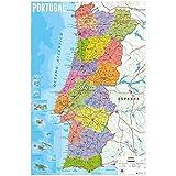 Erik discverlag Group der 4799-Portugal Karte Poster,
