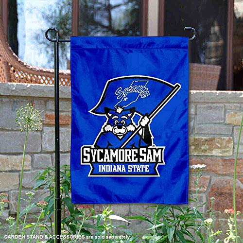 nners Co. Indiana State Sycamores Sycamore Sam Garten Flagge ()