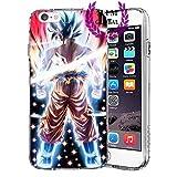Custodie iPhone per Dragon Ball Z Super GT Case Cover - Design Ultimi Unique - Tutti i modelli iPhone - Brand New - Alta Qualita - Tournament Of Power - Goku Black Rose - Goku Blue - Gohan - Jiren - Vegeta Blue - DBS - DBZ - DBGT - Molti Disegni - MIM UK (iPhone 6 Plus/6s Plus, Beast 2)