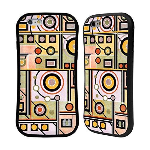 Ufficiale Shelly Bremmer Blu Geometrico Case Ibrida per Apple iPhone 7 Plus / 8 Plus 1.5