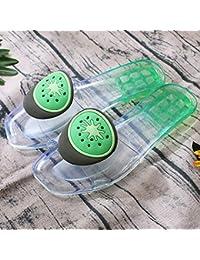JHion - Sandalias de Playa Antideslizantes para Mujer, para Verano, con diseño de Puntera