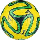 adidas Fußball Brazuca Sala 65, Gelb/Grün, 4, G73650