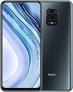 "Xiaomi Redmi Note 9 Pro Smartphone - 6.67"" DotDisplay 6GB 64GB 64MP AI Quad Caméra 5020mAh (typ)* NFC Gris [Version Globale]"
