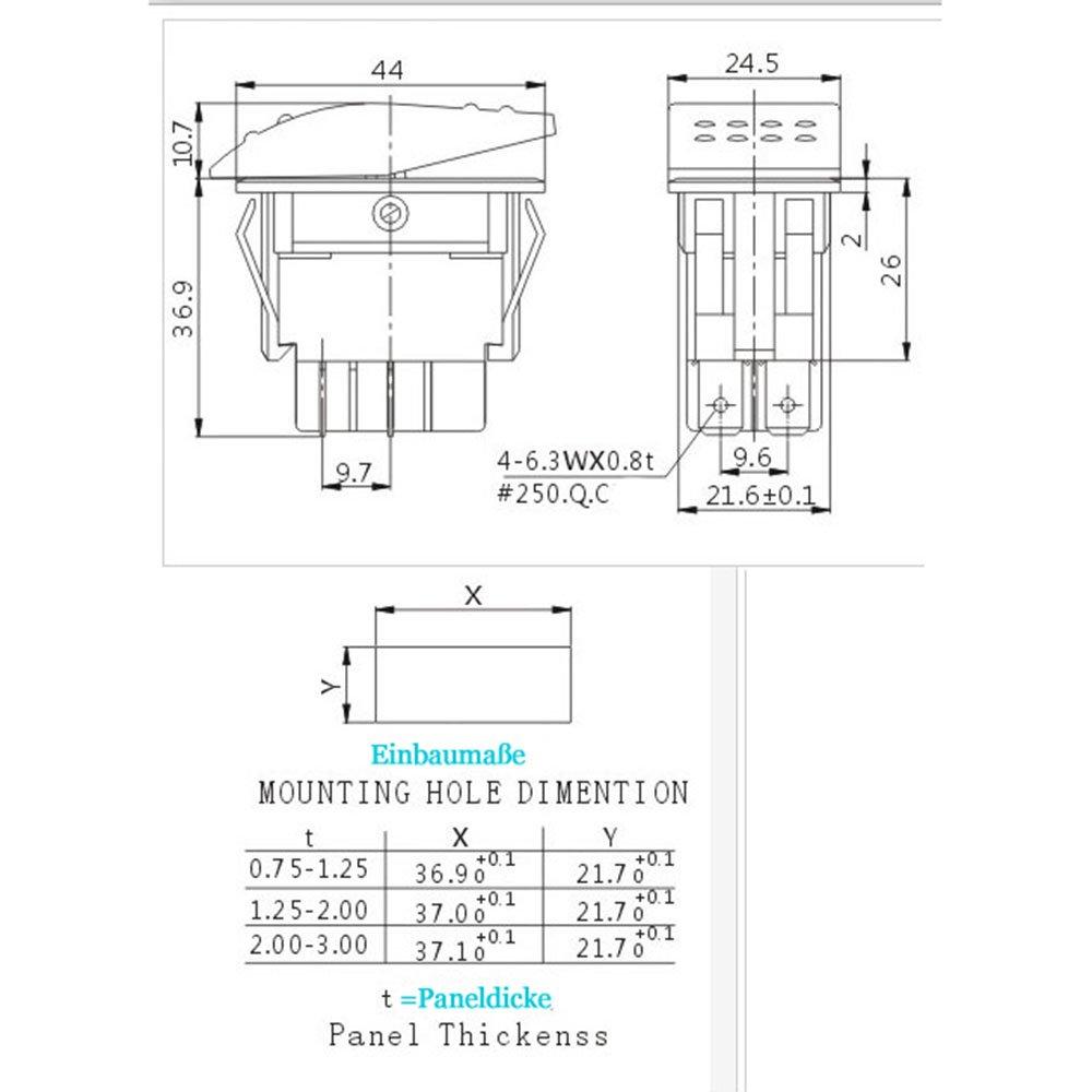 Atemberaubend 4 Poliger Wippschalter Schaltplan Fotos - Elektrische ...