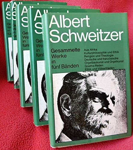 Gesammelte Werke (in 5 Bänden)