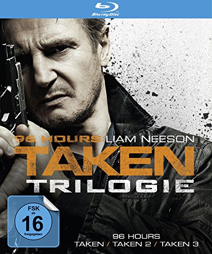 96 Hours - Taken 1-3 [Blu-ray] - 96