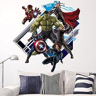 Children Kids Wall Stickers Wall Decor Hulk Avengers Size 60cm x 60cm