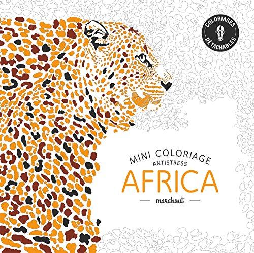 Mini coloriage antistress «Africa»