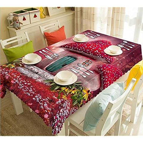 GYMNLJY 3D antipolvere comodino tavolo panno bambini verde panno di poliestere lavabile assortiti dimensioni tabella senza profumo . b . 2 - Monouso Tovagliette Bambini